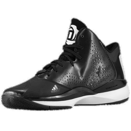 adidas D Rose 773 III - Men's - Basketball - Shoes - Derrick Rose - Black/White/Black