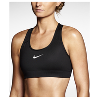 Nike Pro Core Bra - Women's - All Black / Black