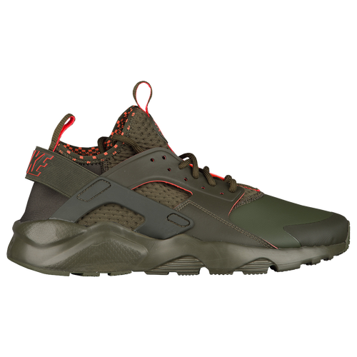 Nike Air Huarache Run Ultra Men's Cargo Khaki/Total Crimson/White 75841301