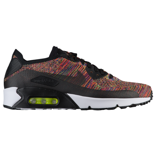 Nike Air Max 90 Ultra 2.0 Flyknit - Men s - Casual - Shoes - Black ... 314b1845a37c