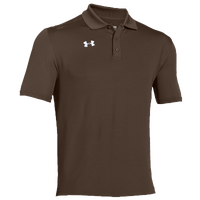 Under Armour Team Armour Polo - Men's - Brown / Brown