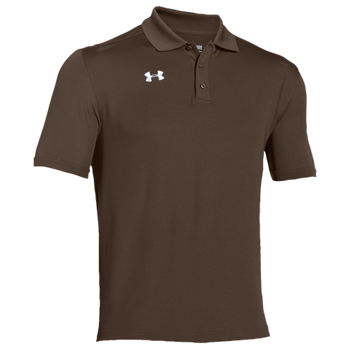 Under Armour Team Armour Polo - Men's For All Sports - Cleveland Brown/White 7622200