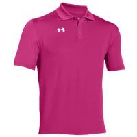 Under Armour Team Armour Polo - Men's - Pink / Pink