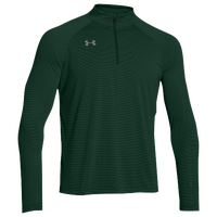 Under Armour Team Tech Stripe 1/4 Zip - Men's - Dark Green / Dark Green