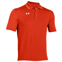 Under Armour Team Armour Polo - Men's - Orange / Orange