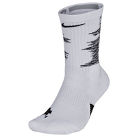 Nike Elite GFX 2 Crew Socks - Men's - White