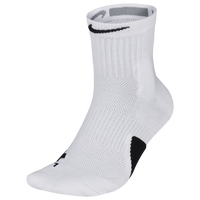 Nike Elite Mid Socks - White