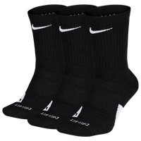 Nike Elite Crew 3-Pack - Black