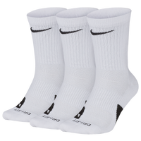 Nike Elite Crew 3-Pack - White