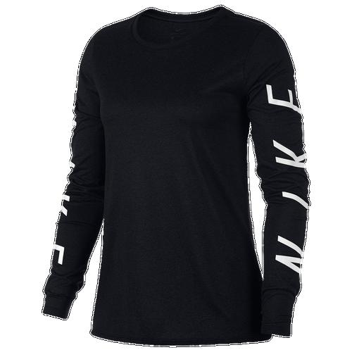 Nike Graphic Legend Long Sleeve T Shirt Women 39 S