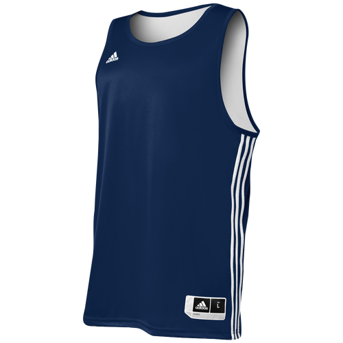 adidas Practice Reversible Jersey - Men's Basketball - Collegiate Navy/White 7667302