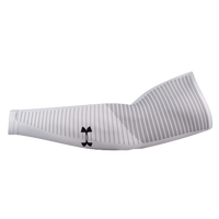 Under Armour Graphic Arm Sleeve - Men's - White / Grey