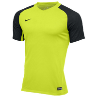 Nike Team Revolution Jersey - Men's - Light Green / Black
