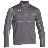 Under Armour Team Rival Knit Warm-Up Jacket - Men's - Grey / White