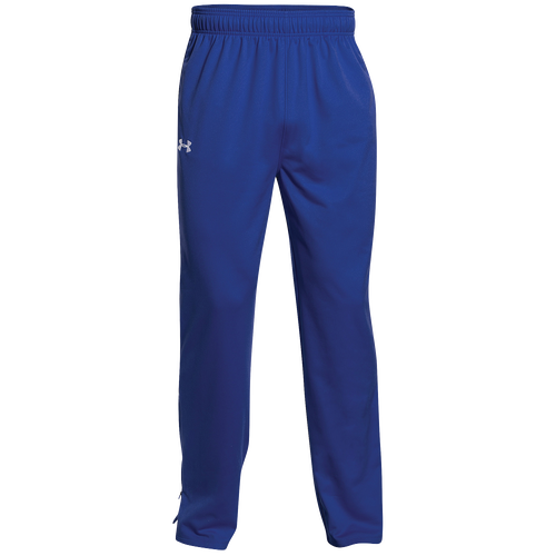 Under Armour Team Rival Knit Warm-Up Pants - Men's - For All Sports -  Clothing - Royal/White