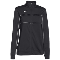 Under Armour Team Rival Knit Warm-Up Jacket - Women's - Black / White
