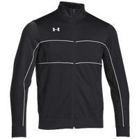Under Armour Rival Knit Warm-Up Jacket - Boys' Grade School - Black / White