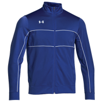 Under Armour Rival Knit Warm-Up Jacket - Boys' Grade School - Blue / White