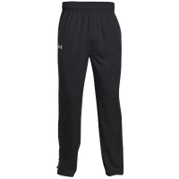 Under Armour Rival Knit Warm-Up Pants - Boys' Grade School - Black / White