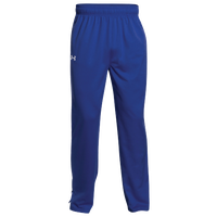 Under Armour Rival Knit Warm-Up Pants - Boys' Grade School - Blue / White