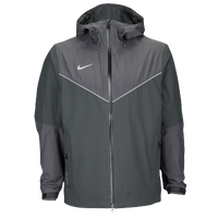Nike Team Waterproof Jacket - Men's - Grey / Grey