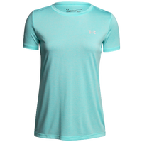 Under Armour Tech Short Sleeve T-Shirt - Women's - Aqua / Aqua