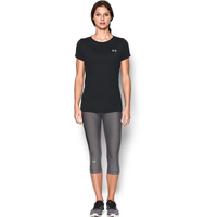 Under Armour Tech Short Sleeve T-Shirt - Women's - Black / Black