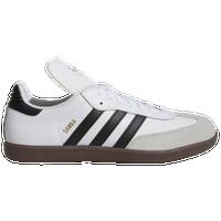 adidas samba classico uomini scarpe bianco / nero