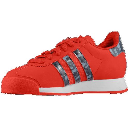 adidas Originals Samoa Boys' Grade School Training Shoes Collegiate Red/Grey/White 77762