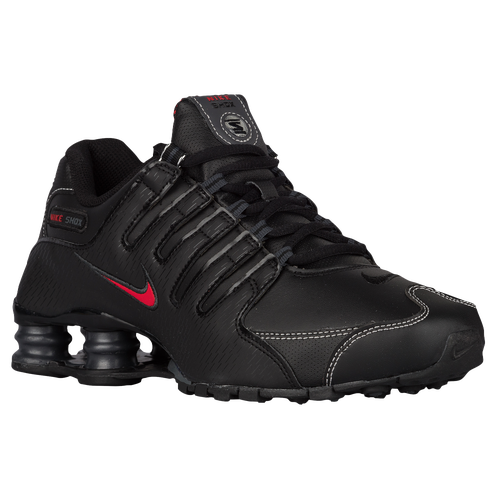 nike shox nz men 39 s running shoes black varsity red. Black Bedroom Furniture Sets. Home Design Ideas