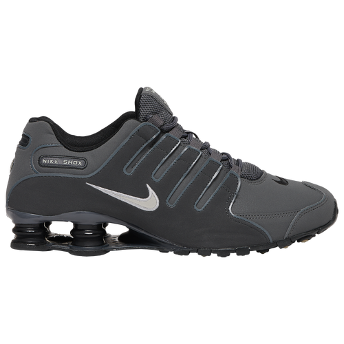 Nike Shox NZ - Men\u0027s - Running - Shoes - Dark  Grey/Anthracite/Black/Metallic Iron