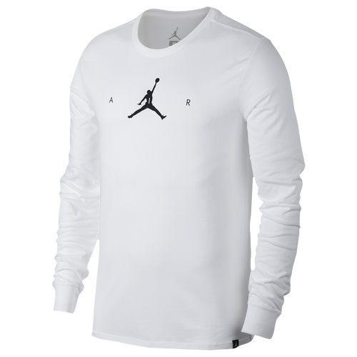 Jordan A.I.R. Men's Long Sleeve T-Shirts Black/White