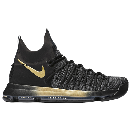Nike KD 9 Elite - Men's - Basketball - Shoes - Kevin Durant - Black/Tour  Yellow/Blue Fury