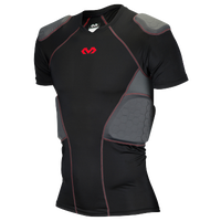 McDavid Rival Pro 5 Pad Short Sleeve Shirt - Men's - Black / Red