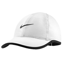 Nike Dri-FIT Featherlight Cap - Women's - White / Black