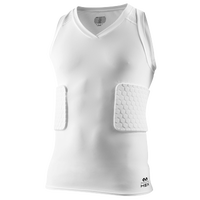 McDavid Hex 3 Pad Tank Shirt - Men's - All White / White