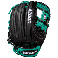 Wilson A2000 RC22 Superskin Fielder's Glove - Men's -  Robinson Cano - Black / Light Green