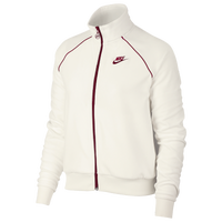 Red Track D8wq0d Clothing Women's Nike Velour Crush Casual Jacket CxBedo