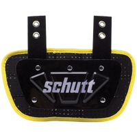 Schutt Back Plate - Boys' Grade School - Yellow / Black
