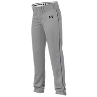 Under Armour Team Next Open Bottom Baseall Pants - Boys' Grade School - Grey