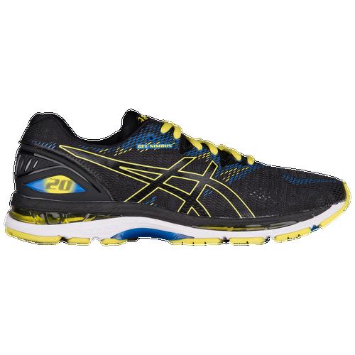 ASICS? GEL-Nimbus 20 - Men's Running Shoes - Black/Sulphur Spring/Victoria Blue 8009089
