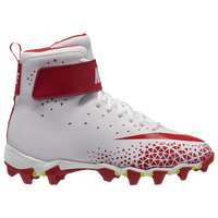 Nike Force Savage Shark BG - Boys' Grade School - White / Red