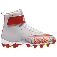 Nike Force Savage Shark BG - Boys' Grade School - White / Orange