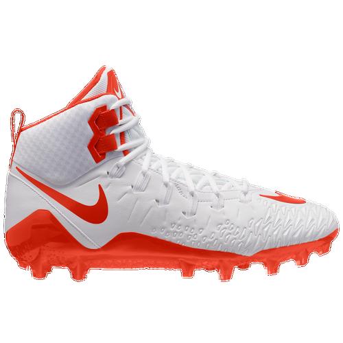 Nike Force Savage Pro - Men's Football Shoes - White/Team Orange/Team Orange 80144188