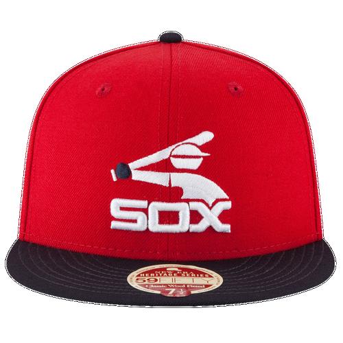 best website 86a0f cf412 New Era MLB 59Fifty Wool Standard Cap - Men s - Accessories - Chicago White  Sox -