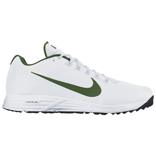 promotions Nike Lunar Clipper Turf 2017 Mens Baseball Shoes WhiteBlackWhite