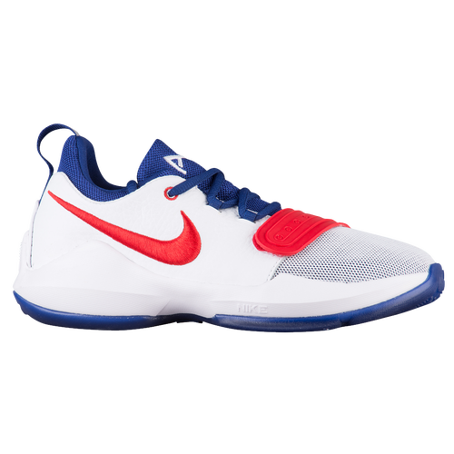 fb926cb11067 ... Nike PG 1 - Boys Grade School - Basketball - Shoes - Paul George - White  ...
