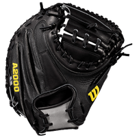 Wilson A2000 M2 Superskin Catcher's Mitt - Men's - Black / Grey