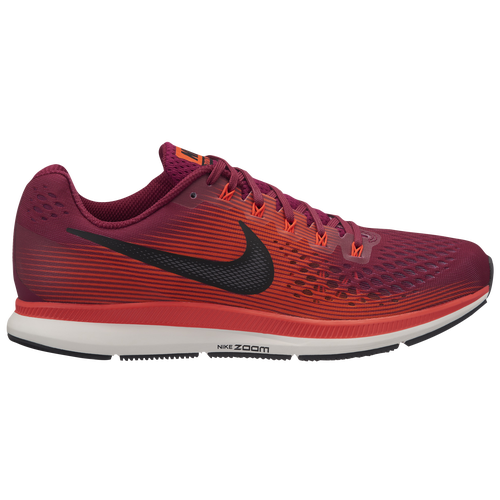 Nike Air Zoom Pegasus 34 - Men's - Running - Shoes - Rush  Maroon/Black/Bright Crimson/Phantom