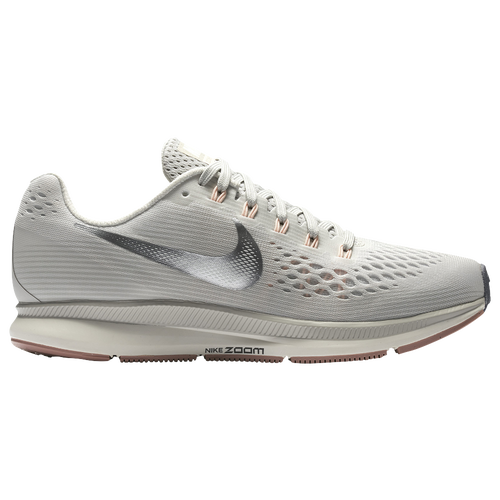 Nike Air Zoom Pegasus 34 - Women's Running Shoes - Light Bone/Chrome 80560004